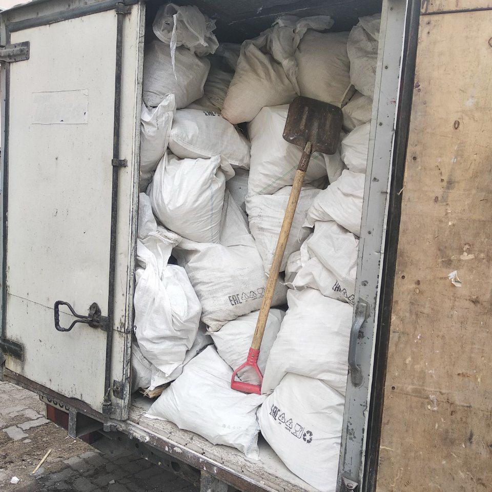 Вывоз мусора с наб. Канала Грибоедова