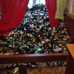 Вывоз мусора из п. Стрельна, пригород СПб.