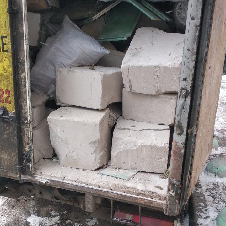Вывоз мусора с Васильевского острова, СПб
